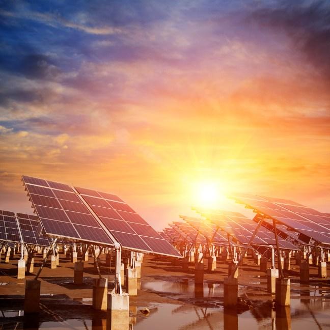Fujisawa smart town. Solar energy.