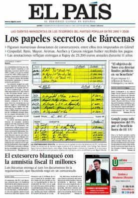 31. El País descubre los #papelesdebarcenas