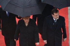 4. Rajoy visita a Merkel en Berlín (AFP)