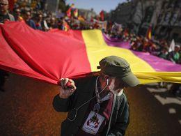 14. 82 aniversario de la II República (AFP)
