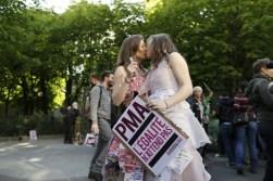 23. Francia aprueba el patrimonio homosexual (Afp)