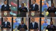 11. Un falso intérprete en el funeral de Madiba (AFP)
