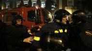 15. Detenido un bombero en servicio en Madrid (Olmo Calvo)