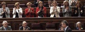 11. Nuevo aplauso del Congreso a la ley del aborto (@juliaotero)