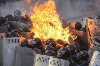 18. Al menos 14 muertos en las manifestaciones de Kiev (Reuters)