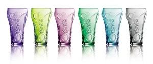 Ensemble 6 verres Coca-Cola