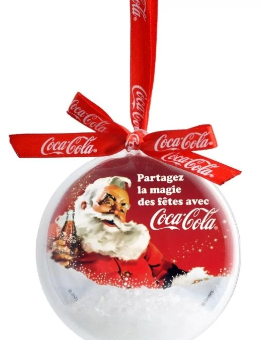 Une boule à neige Coca-Cola offerte avec vos packs