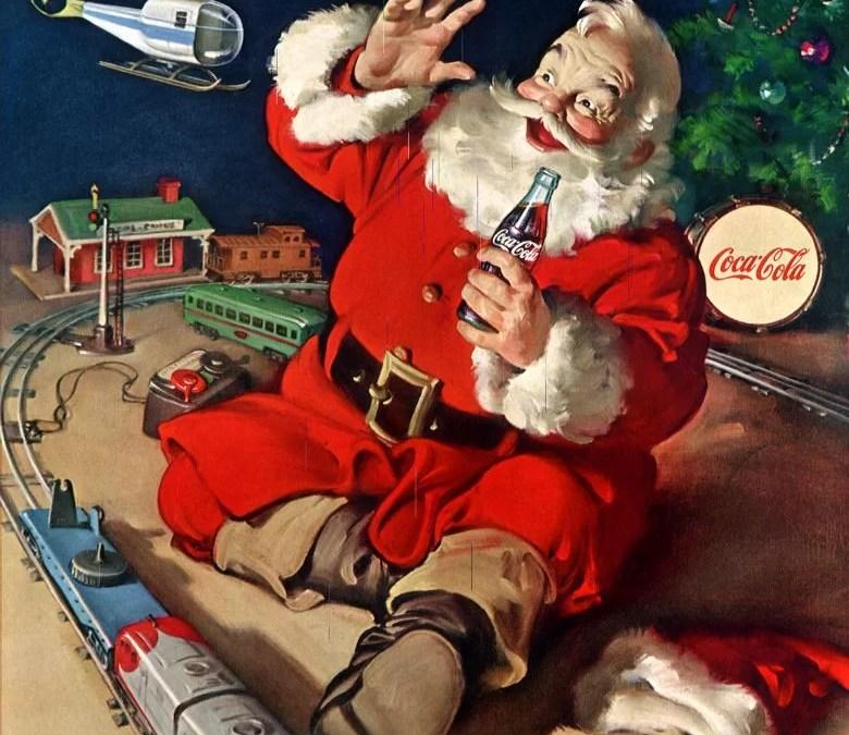 Le Train du Père Noël sillonnera la France avec Coca-Cola