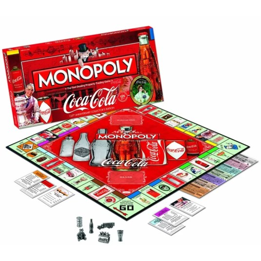 Monopoly - 125ème anniversaire de Coca-Cola