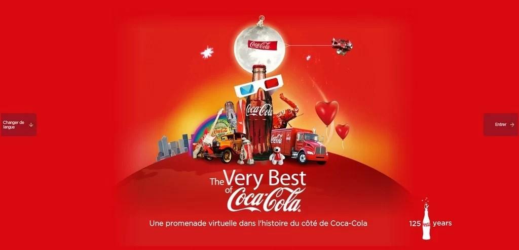 Découvrez le musée virtuel de Coca-Cola