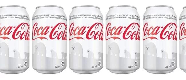 Une canette de Coca-Cola blanche pour sauver l'ours polaire