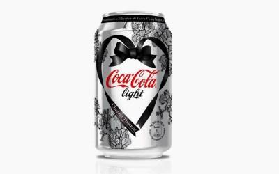 La canette Coca-Cola Light par Chantal Thomass dévoilée