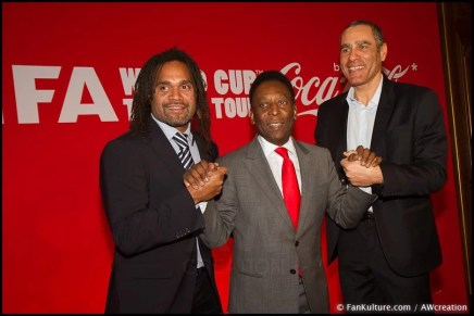 Christian Karembeu, Pelé, Richard Dacoury