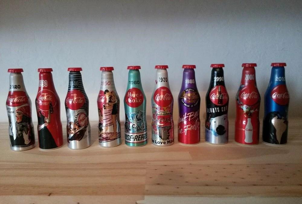 Des mini-bouteilles de Coca-Cola offertes chez Auchan