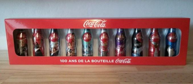 Mini-bouteilles de Coca-Cola (coffret)
