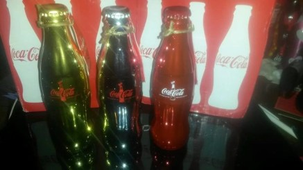 Coca-Cola 100 Years Limited Edition Bottle