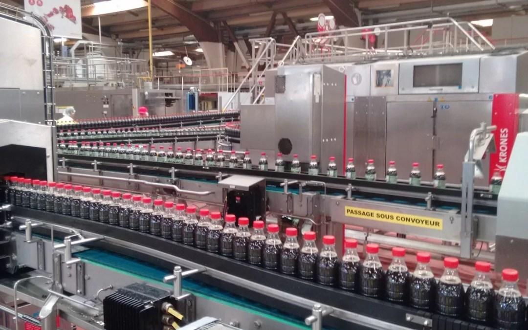 Visite de l'usine Coca-Cola de Clamart : photos et vidéo