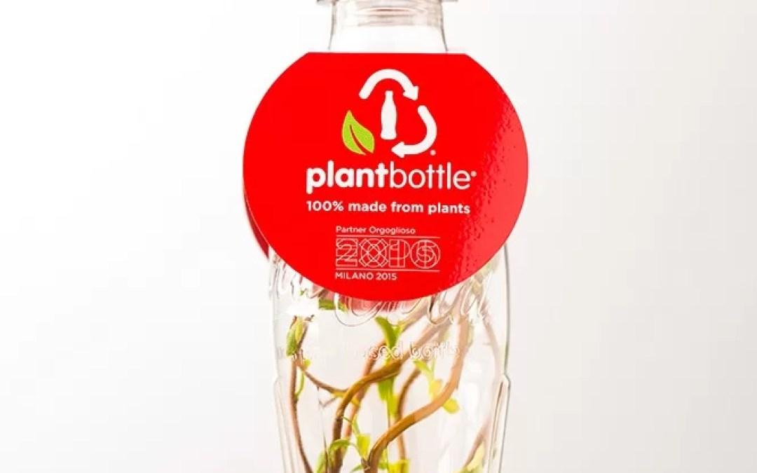 Coca-Cola produit la première bouteille entièrement fabriquée à partir de matières végétales