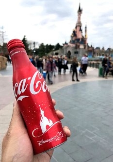 Bouteille Collector Coca-Cola x Disneyland Paris (25 ans)