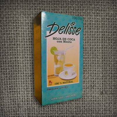 Buy Coca Tea Delisse, Mate De Coca with mint - Coca Inka