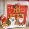 ダイソーのクリスマスラッピング袋やボックス、ブーツがかわいい!