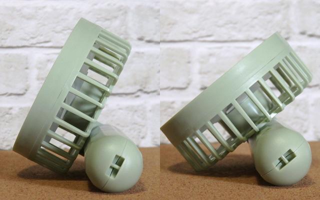 ダイソー usb 扇風機 ハンディ扇風機 充電式