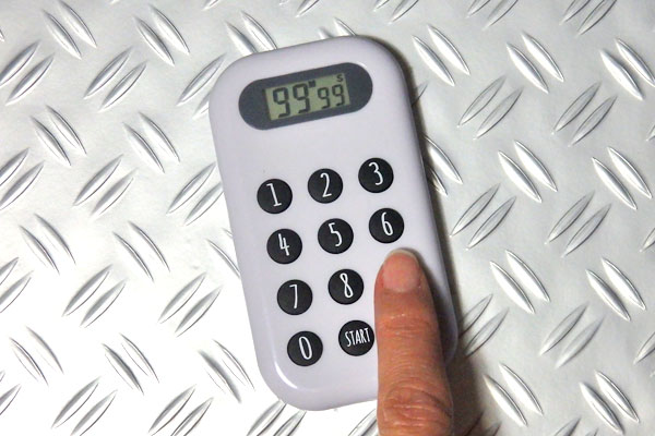 100均 タイマー テンキー 10キータイマー キッチンタイマー