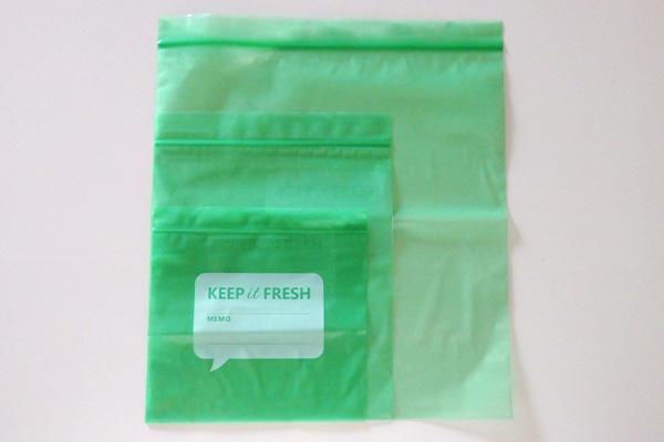 野菜 保存 袋 ジッパー 鮮度保持袋 長持ち