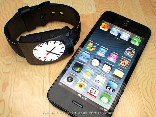 "Photo of Conceito ""factível"" de iWatch"