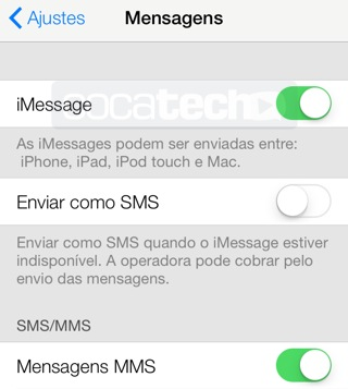 Foto de Como Desabilitar o SMS no iPhone