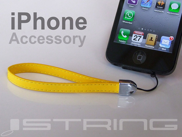 Photo of iString, a cordinha para seu iPhone 5