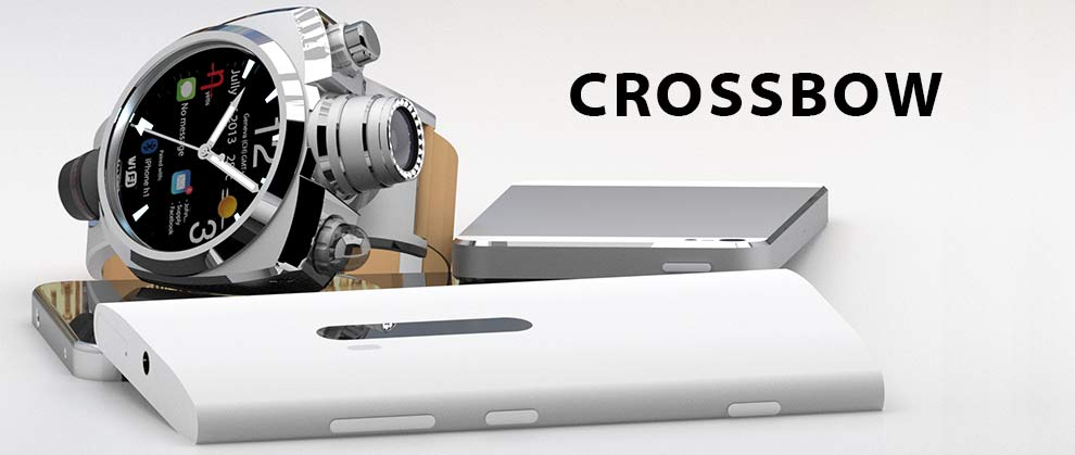 "Photo of Crossbow: ""SuperWatch"" com Câmera, Wi-Fi, Bluetooth, NFC, …"