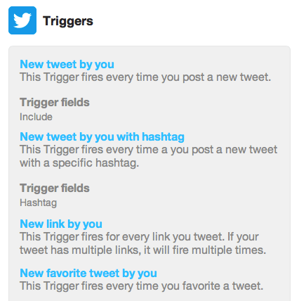 Photo of Triggers do Twitter voltam ao IFTTT