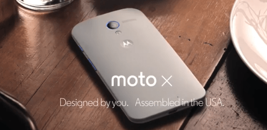 Photo of Moto X: Designed by you, Assembled in the USA