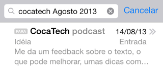 Photo of Busca Avançada no Mail do iOS