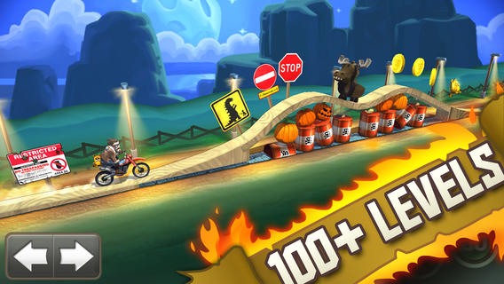 Photo of Bike Baron, um exemplo de game a ser seguido