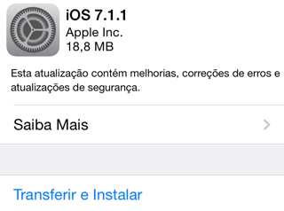 Photo of iOS 7.1.1 e Apple TV Software 6.1.1 na Área