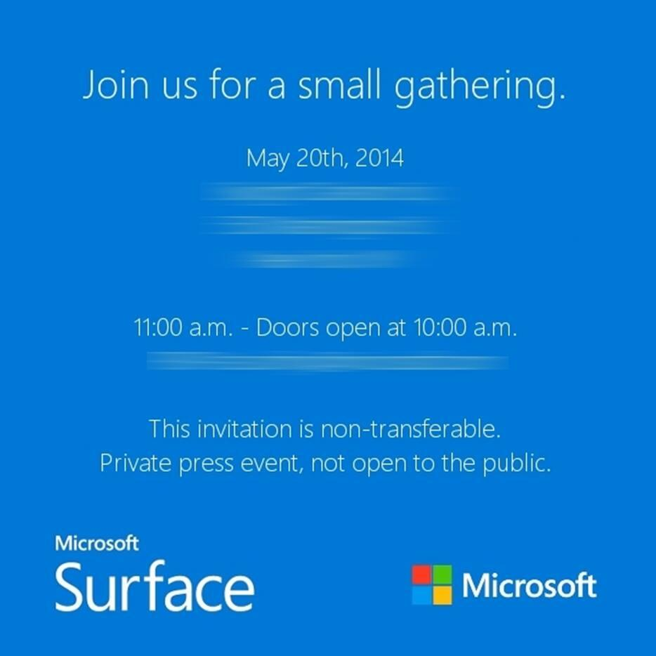 "Photo of Microsoft: Evento para lançar o ""Surface mini""?!"