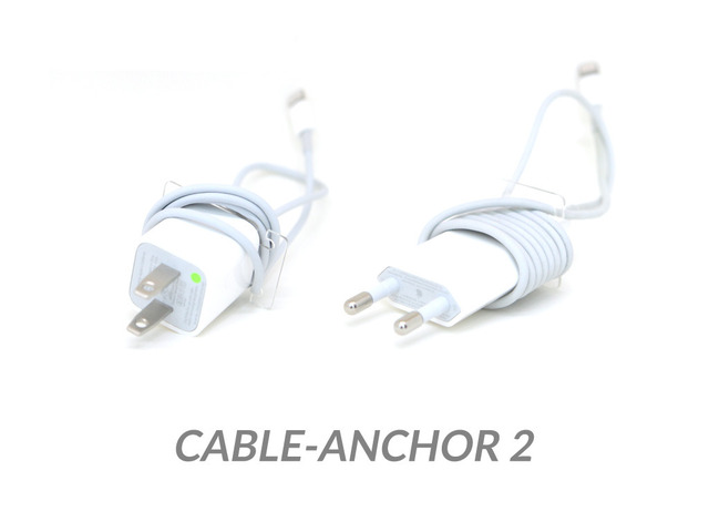 Photo of Cable Anchor, para enrolar cabo USB