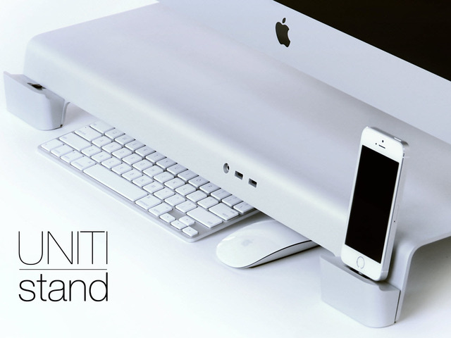 Photo of Uniti, suporte triplo para iMac, iPhone e iPad