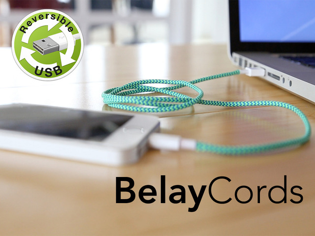 Photo of BelayCords, cabo USB reversível