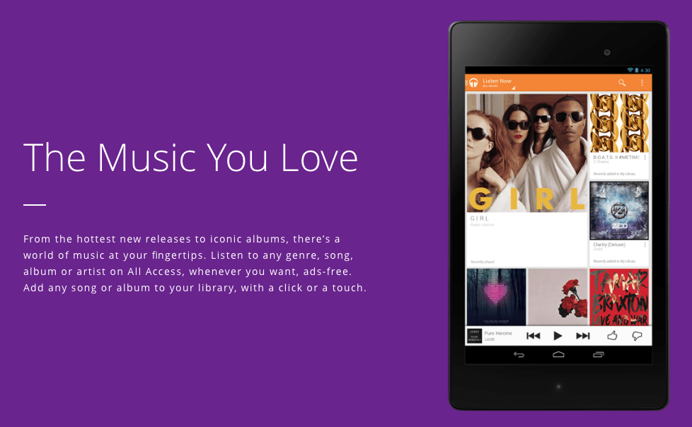 Photo of Google Play Música chega ao Brasil