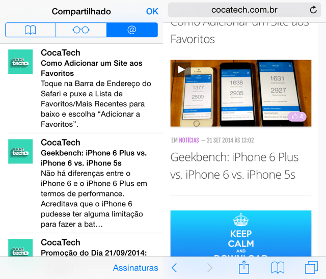 Photo of Como Ler seus Feeds RSS's no Safari do iOS