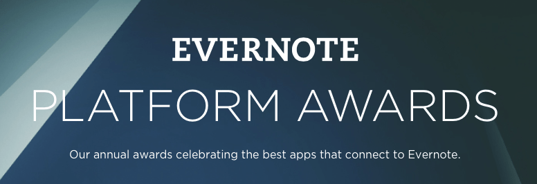 Foto de Evernote Platform Awards 2014: Apps vencedores