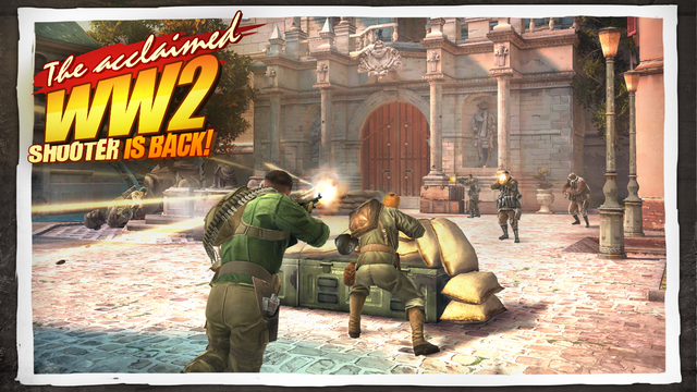 Photo of Brothers in Arms® 3: Sons of War para iOS na Área