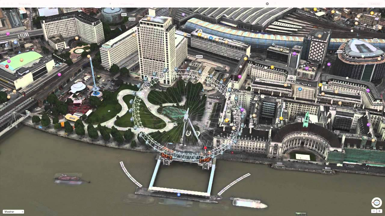 Photo of Apple Maps com Animação 3D, London Eye e Big Ben