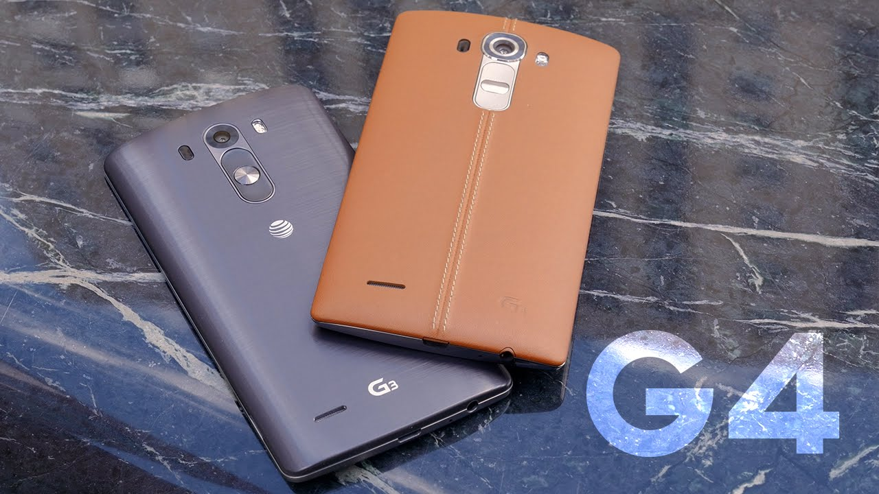 Photo of LG G4 hands-on