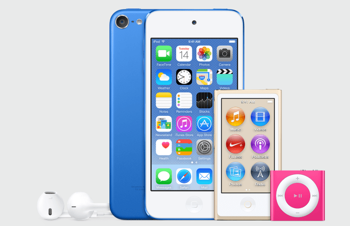 Photo of iTunes 12.2 mostra novas cores para iPod nano, touch e shuffle