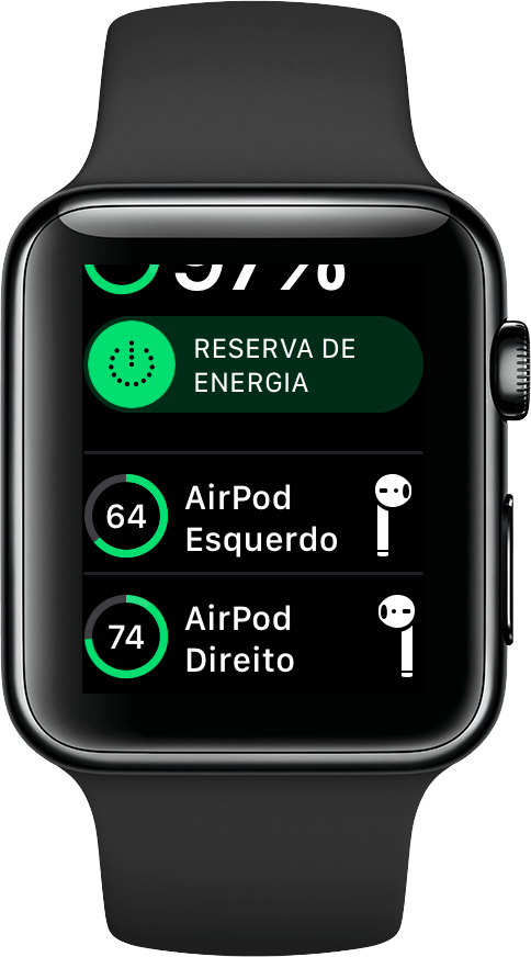Foto de Como Verificar a Bateria dos AirPods no Apple Watch?