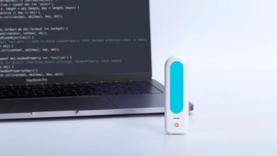 "Photo of eyeDisk, pen drive com ""Eye ID"""